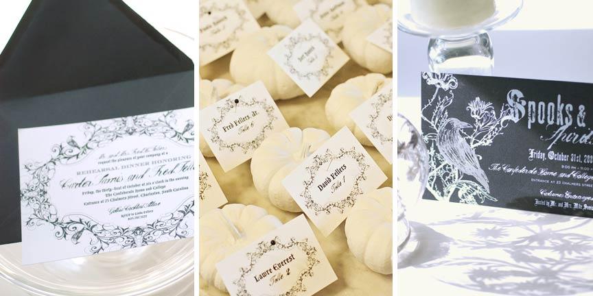 Custom Letterpress Invitations for life's celebrations: Letterpress