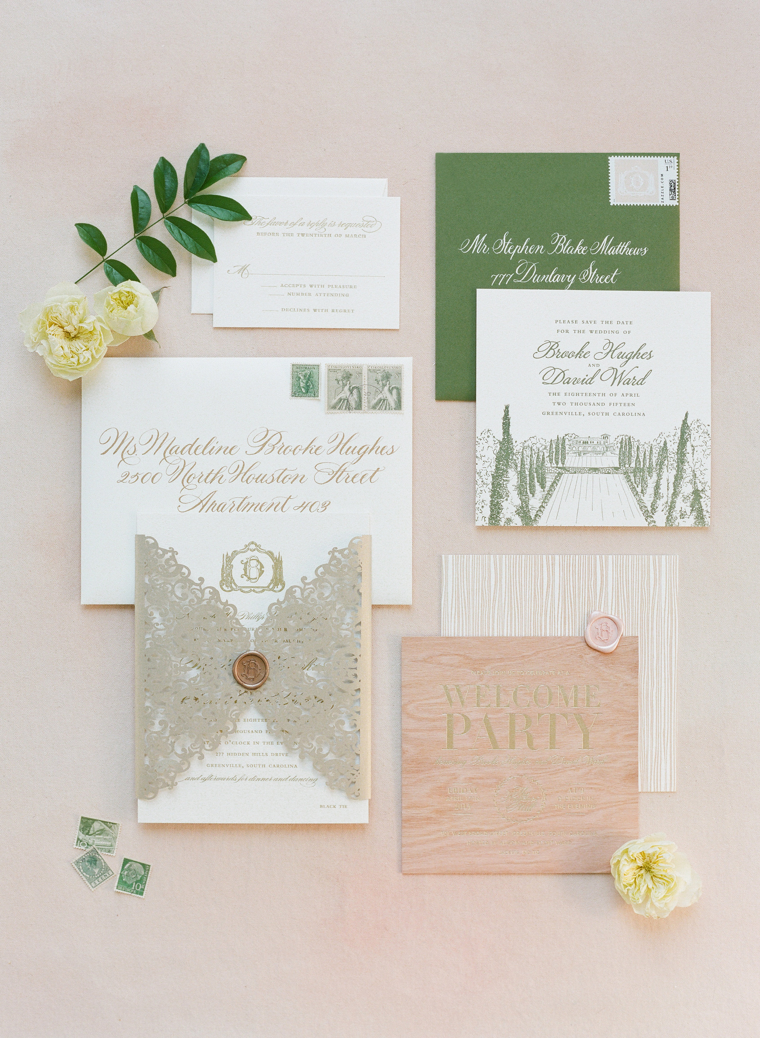 Lovely Lace | Lettered Olive